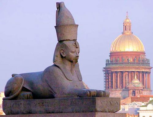 Египетские мотивы в архитектуре Петербурга