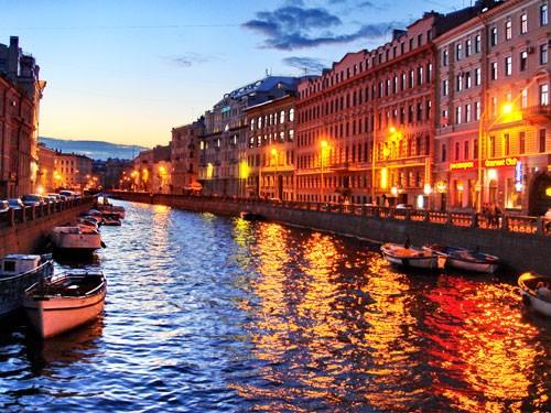 Петербург с воды